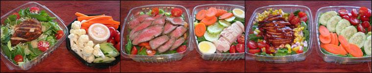 Photo: salads.
